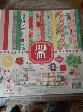Photo Jack  Jill Echo Park Scrapbook Paper and Sticker Collection Pack - $10 (Spokane Valley)