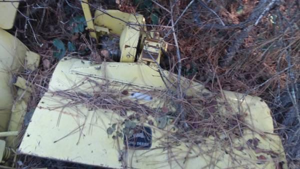 Photo John Deere 33 Tiller Implement Garden Tractor 140 317 316 300 314 120 - $925
