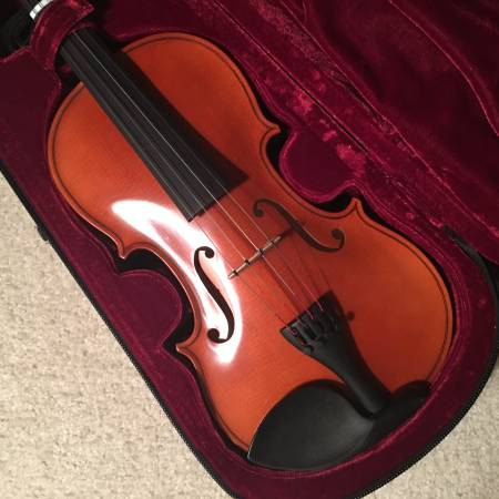 Photo Josef Jan Dvorak 260 44 Full Size Violin Beautiful Condition - $375