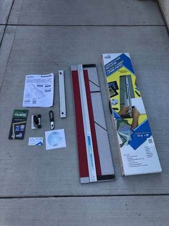 Photo Logan Compact Picture Mat Cutter Never Used - $75 (South Hill Spokane)