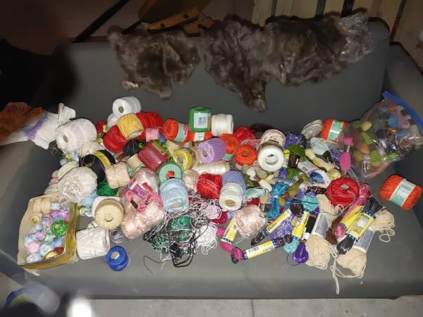 Photo Lots of NEW Plastic Canvas Yarn, etc - $50 (Post Falls)