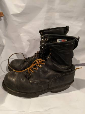 Photo Mens size 13 Winter Boots Logger Boots - $30 (Chewelah)