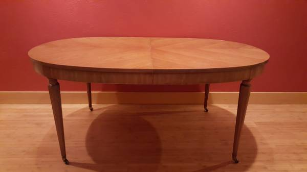 Photo Mid century Kindel (Belvedere) high end furniture dining table $272- - $272 (CDA,Id)