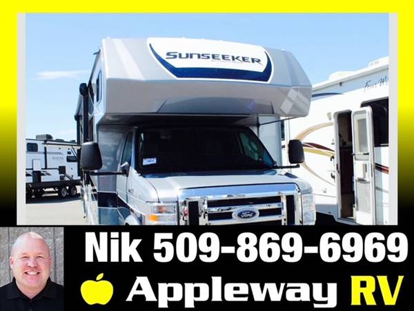 Photo New 2021 Forest River RV Sunseeker 2860DS CLASS C W OUTSIDE KITCHEN - $136,486 (LIBERTY LAKE)
