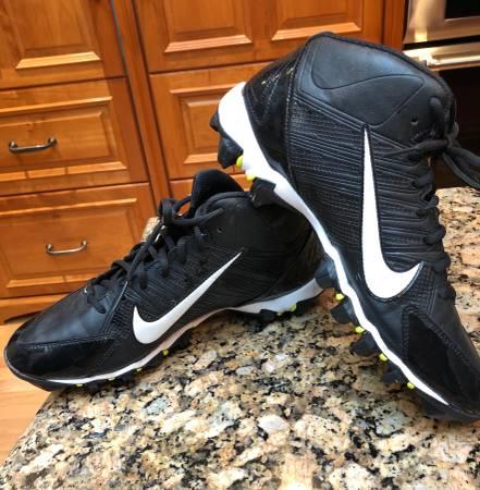 Photo Nike Alpha Shark Football Cleats Size 9 worn one season - $10