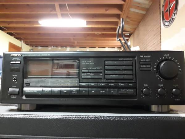 Photo Onkyo Receiver  BIC Speakers - $80 (South Hill)