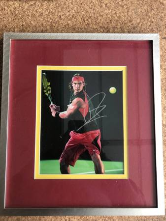 Photo Rafael Nadal signed photo - $45 (Eagle Ridge)