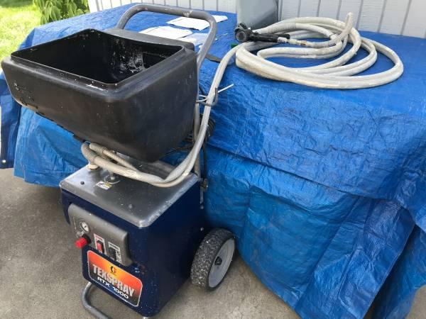 Photo Texture sprayer- Graco RTX 1000 - $625 (Spokane)