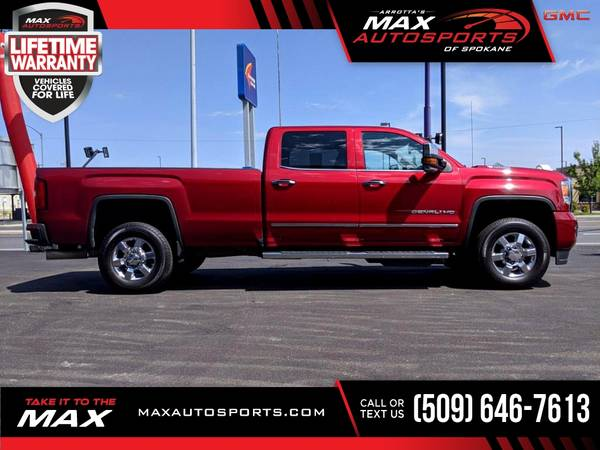 Photo This 2019 GMC Sierra 3500HD Denali Pickup is PRICED TO SELL - $71,980 (Max Autosports of Spokane)