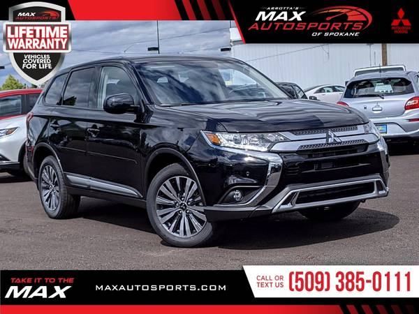 Photo This 2020 Mitsubishi Outlander SP SUV is simply ELEGANT. - $33999 (Max Autosports of Spokane)