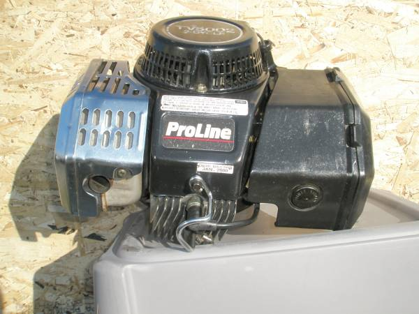 Photo Toro Proline TV5002 Suzuki 2 Stroke Mower Motor Complete Low Hrs - $295 (Spokane Valley)