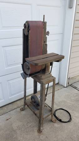 Photo Vintage Delta Rockwell 6x48 belt sander grinder - $500 (Sandpoint, Idaho)