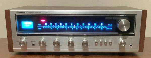 Photo Vintage Pioneer SX-434 Stereo Receiver with new LED lights - $225 (Spokane Valley)