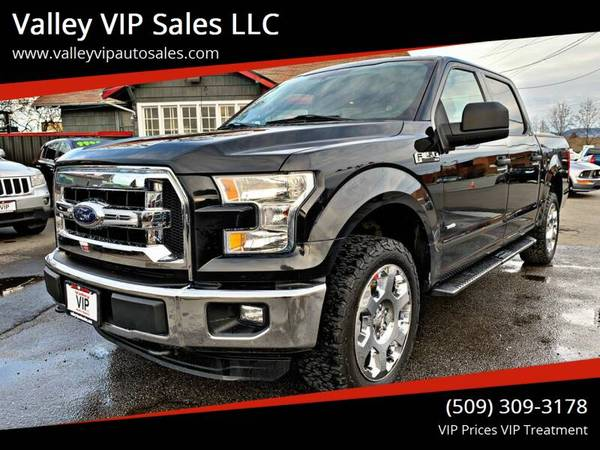 Photo -- 2015 FORD F-150 XLT 4X4 -- Power  Fuel Efficiency - $19995 (valley vip auto sales)