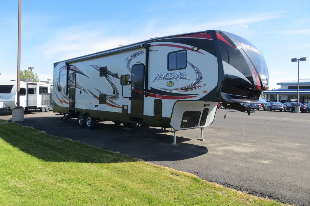 Photo Used 2015 Forest River Toy Hauler RV  $44950