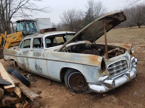 Photo 1957 Chrysler imperial crown with big hemi - $1250 (Republic)