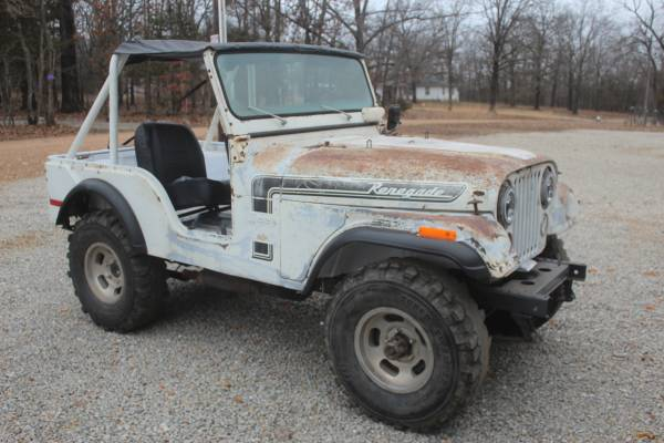 Photo 1974Jeep CJ5 chevy 350 sbc - $4000 (Hermitage)