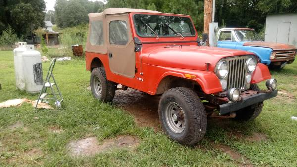 Photo 1985 Jeep Cj7 - $7500 (Koshkonong)