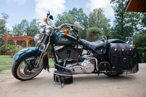 Photo 2000 Retro Harley Heritage Springer - $10,200 (Jasper, AR)