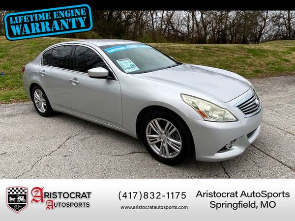 Photo 2010 INFINITI G - Financing Available - $7995