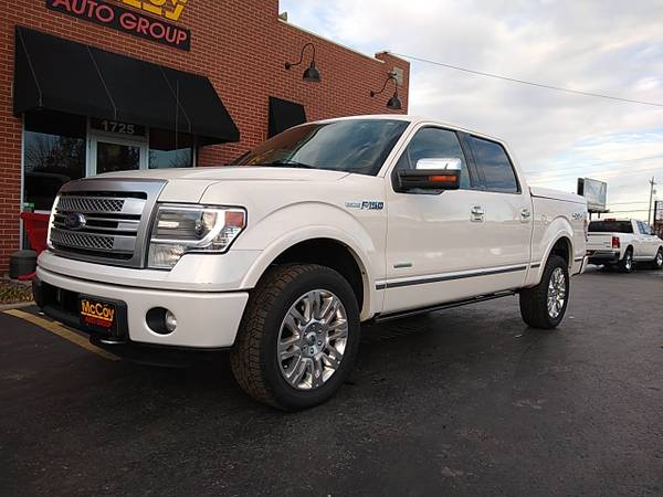 Photo 2013 Ford F-150 Platinum SuperCrew 5.5-ft. Bed 4WD (Springfield, MO)