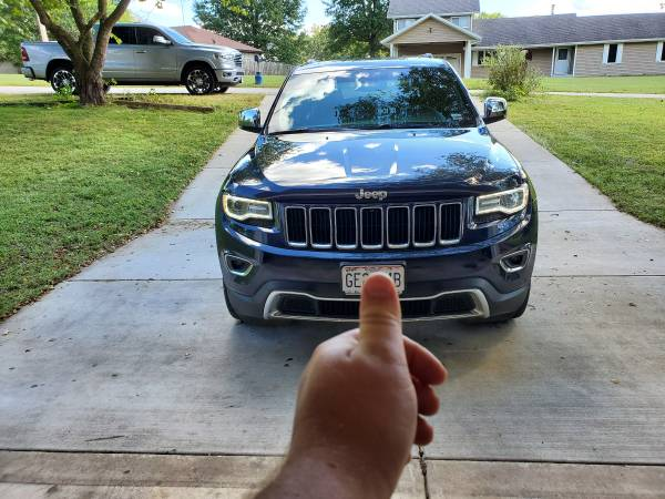 Photo 2014 Jeep Grand Cherokee (diesel) trade - $20800 (nixa)