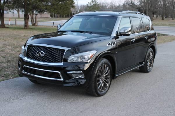 Acura Springfield Mo >> 2015 Infiniti QX80 AWD Limited 58k Miles - $31900 (Nixa ...