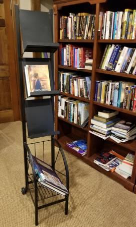 Photo Book Display Cart - $35 (Springfield)