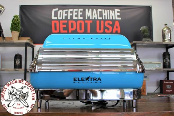 Photo Elektra Barlume 2 Group Commercial Coffee Espresso Machine Cafe - $7,750 (Los Angeles)