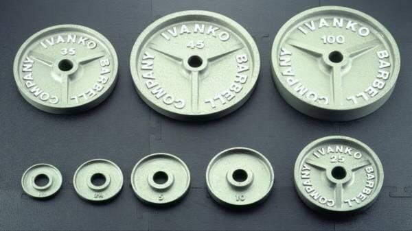 Photo IVANKO Machined OM Plates Olympic WeightsBrand New - $1350 (Nixa)