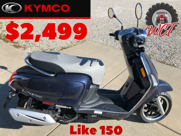 Photo KYMCO LIKE 150i SCOOTER - $2,499 (STRAFFORDMARSHFIELD)