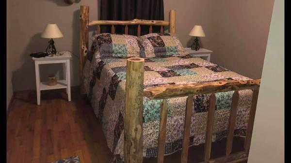 Photo Log Rustic furniture - $175 (Seneca)