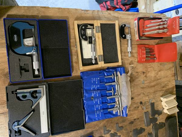 Photo Machinist Tools - $5 (Kimberling City)