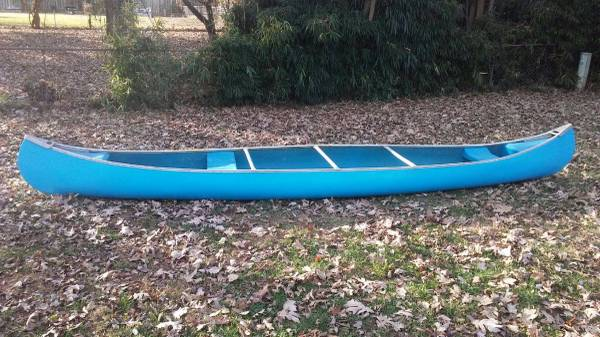 Rare Quapaw Canoe 17ft Fiberglass ****Perfect*** - $475 | Boats