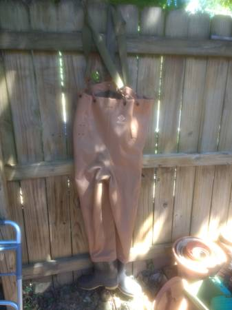 Photo Red Ball Waders - $30