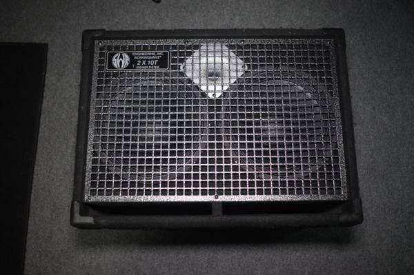 Photo SWR 2x10 Bass Cabinet - $225 (Branson)