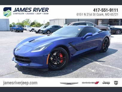 Photo Used 2017 Chevrolet Corvette Stingray Coupe for sale