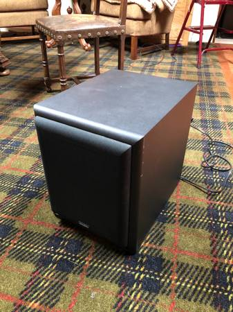 Photo Velodyne CT80 powered home theater subwoofer - $120 (Clinton)