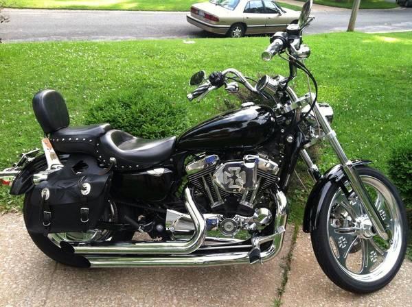 Photo 07 Harley Davidson Sportster 1200c - $4,500 (Belleville)