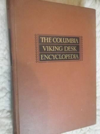 Photo 1953 Columbia Viking Desk Encyclopedia - $10 (Springfield, Il.)