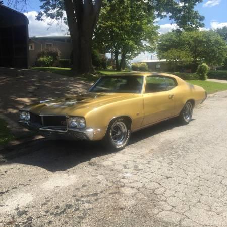 Photo 1970 buick gs 455 - $25000 (Quincy Illinois)