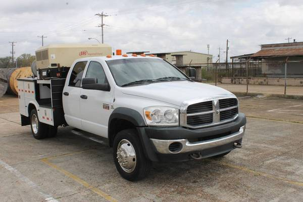 Photo 2008 Dodge Ram 5500 UTILITY SERVICE TRUCK-TIRE SERVICE TRUCK-CUMMINS-AIR COMPRES - $20500 (MEMPHIS TN)
