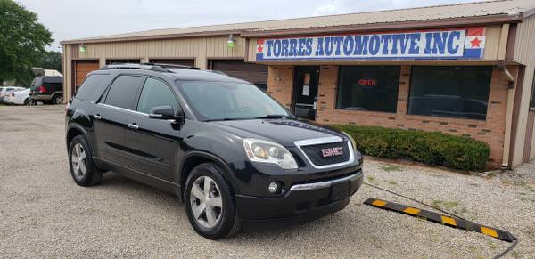 Photo 2011 GMC Acadia SLT - 1-OWNER - LOADED  - $4,295 (TORRES AUTOMOTIVE INC. PANA - IL)