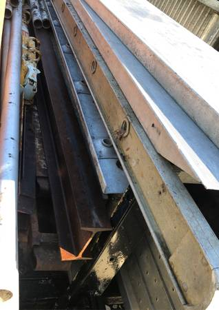 Photo 3 pieces aluminum walk boards two 16 foot one 14 foot - $160 (Springfield)
