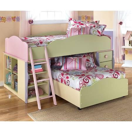Photo Ashley Twin Loft Bed - Twin over Twin - $300 (Mechanicsburg)