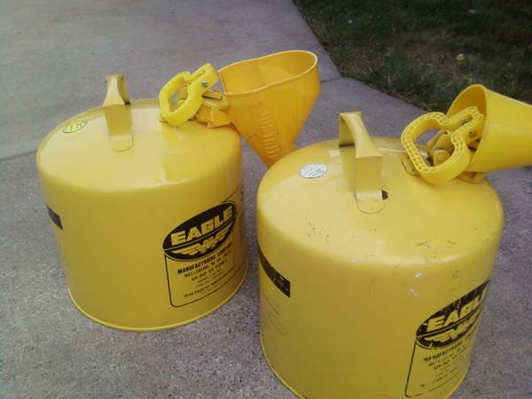 Photo Diesel Fuel Cans - $25 (Athens)