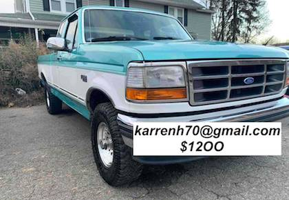 Photo Ford F-150 XLT V8 Engine is a 5.0 302