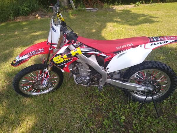 Photo Honda CRF450R - $3,200 (Chillicothe)