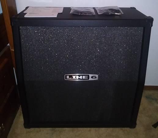 Photo Line 6 Spider V MK II Half Stack Guitar Amp Speaker Cabinet - $100 (De Soto)