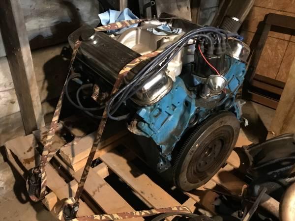 Photo Pontiac 400 complete motor - $3000 (Lincoln)